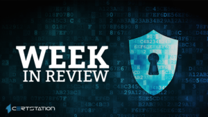 Review on Last Week's Security Threats & Vulnerability Patches