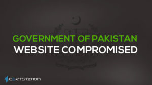 Government of Pakistan's Website Under the Eye of Hackers