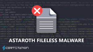 Microsoft Reveals New Astaroth Trojan Campaign