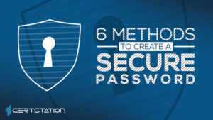 6 Methods to Create a Secure Password