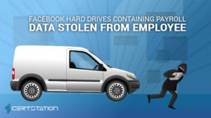 Thief Steals Facebook Workers Payroll Data Hard Drive from Employee