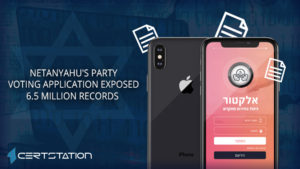 Netanyahu's party voting application exposed 6.5 million records