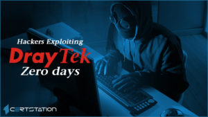 Zero-day vulnerabilities targeted by cybercriminals in Draytek network devices