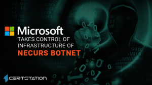 Infrastructure of Notorious Necurs Botnet Cracked by Microsoft