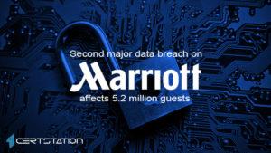Marriott divulges new data breach affecting 5.2 million hotel guests