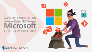 Hacker leaked 500 GB data from Microsoft GitHub repository
