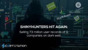 Over 73 million user records on the dark web being sold by a hacker group