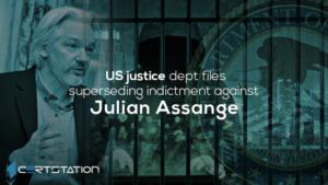 US justice dept files superseding indictment against Julian Assange