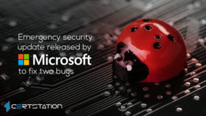 Emergency security update released by Microsoft to fix two bugs