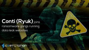Ryuk joins ransomware gangs running data leak websites