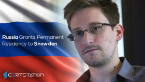 Russia Grants Permanent Residency to Snowden