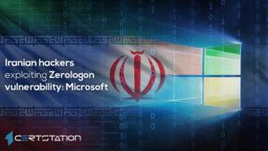 Iranian hackers are exploiting the Zerologon flaw: Microsoft