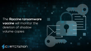 New Ransomware Vaccine Programs Created to Delete Shadow Copies