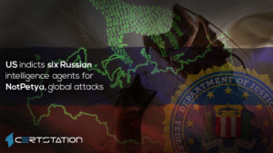 US indicts six Russian intelligence agents for NotPetya, global attacks