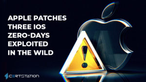 Apple patches three iOS zero-days exploited in the wild
