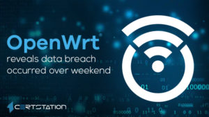 OpenWRT reveals data breach occurred over weekend
