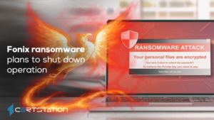 Fonix ransomware plans to shut down operation