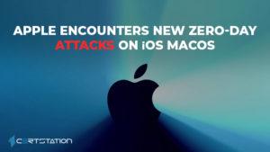 Apple encounters New Zero-day attacks on iOS MacOS