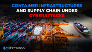 Container Infrastructures and Supply Chain under cyberattacks